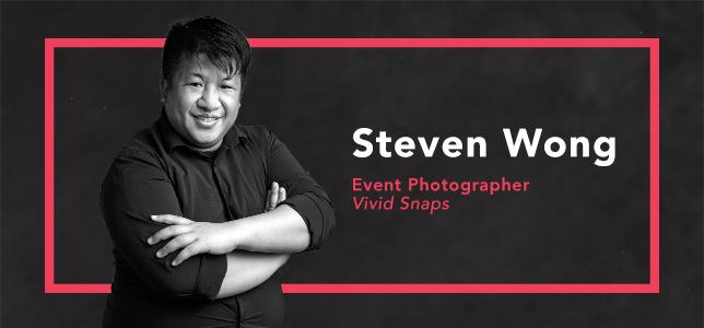 Steven Wong Senior Event Photographer Singapore