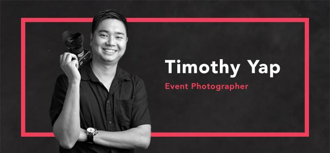 Timothy Yap Event Photographer Singapore