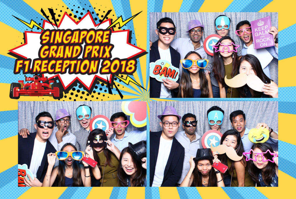 Instant Photo Booth Singapore F1