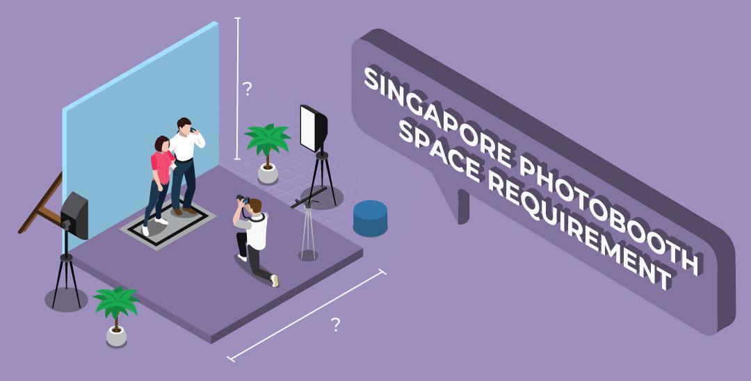 How much space is require for photo booth