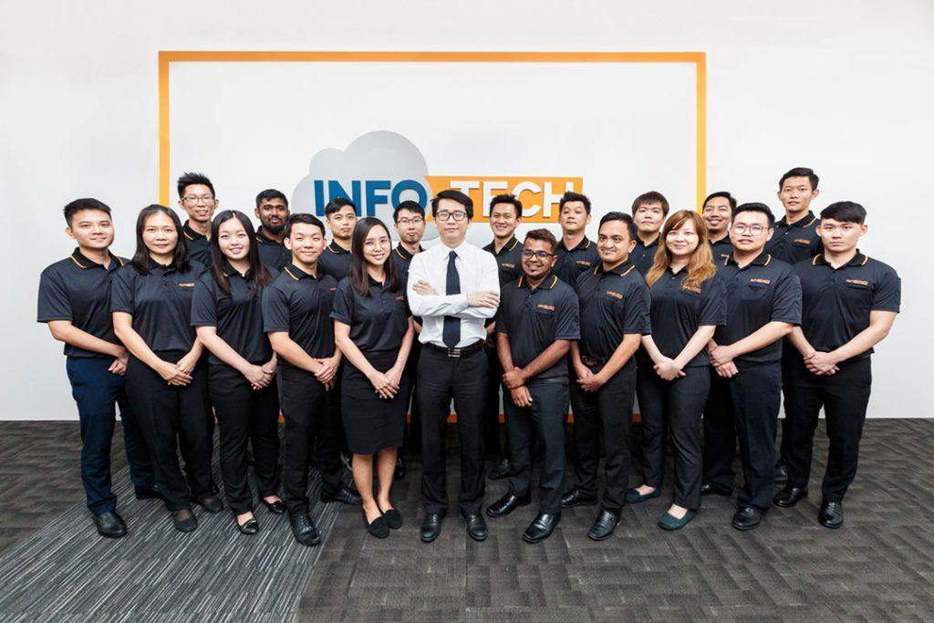 Department Group Photo Singapore