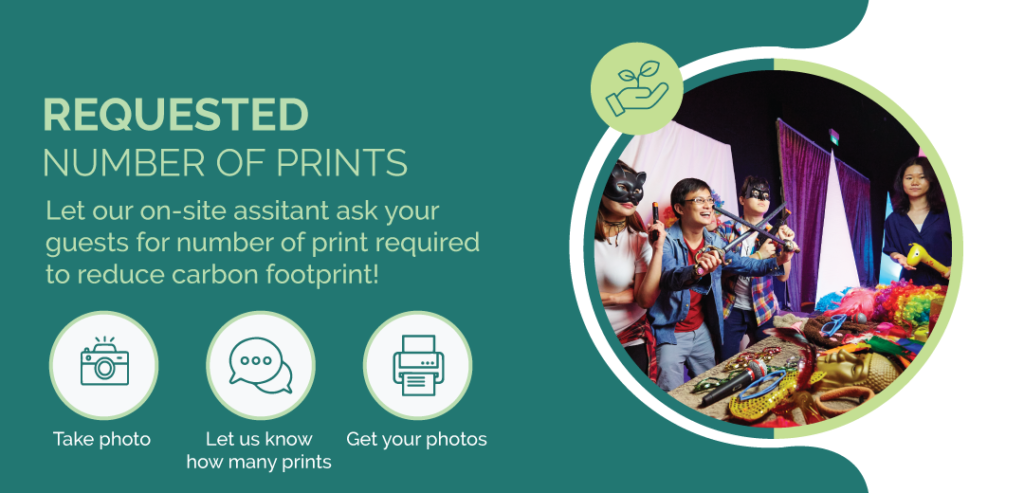 Less Printing Eco Photobooth