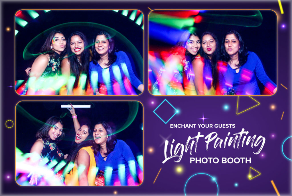 Best lightpainting Photobooth