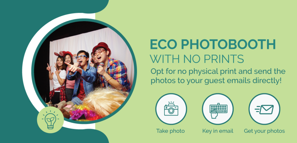 Singapore Eco Photo Booth Paperless