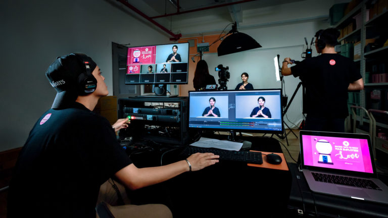 Professional Video Live Stream Singapore
