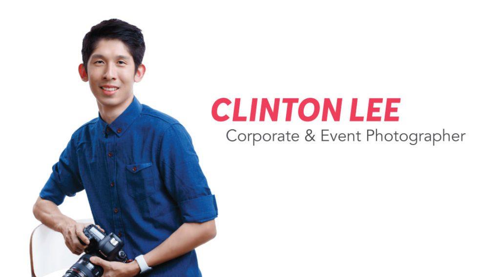 Clinton Professional Photographer Portrait Singapore
