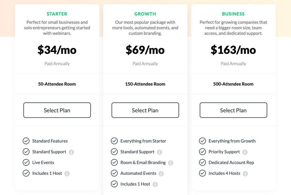 Pricing Plan Demio Singapore