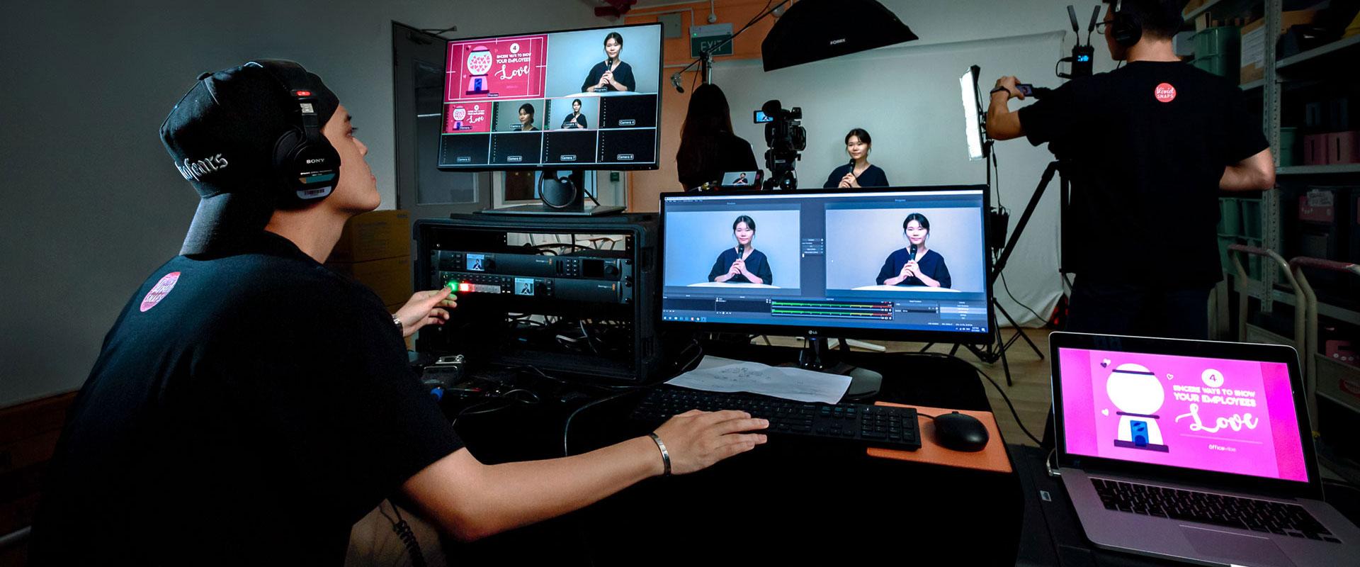 Live Streaming Live Webcasting Provider Singapore