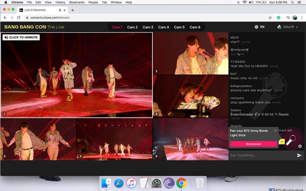 Virtual Event Live Stream Ideas Concert Bang Bang Con