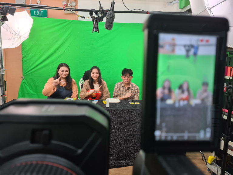 Green Screen Live Streaming Singapore