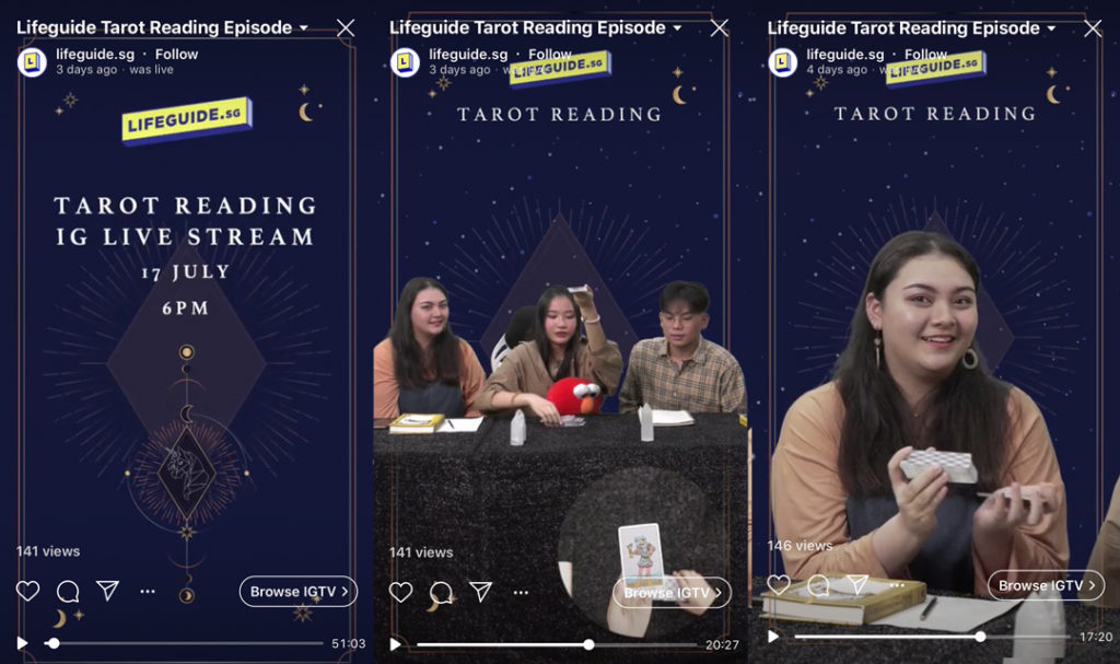 Tarot Reading Livestream