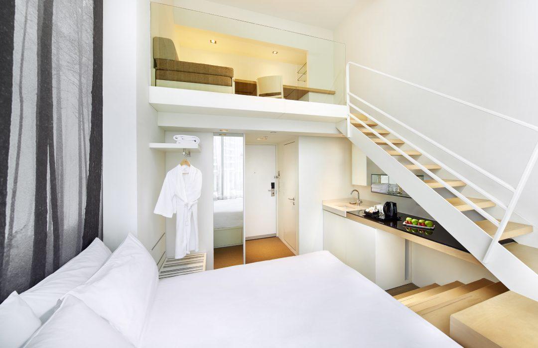 Studio M hotel interior photo