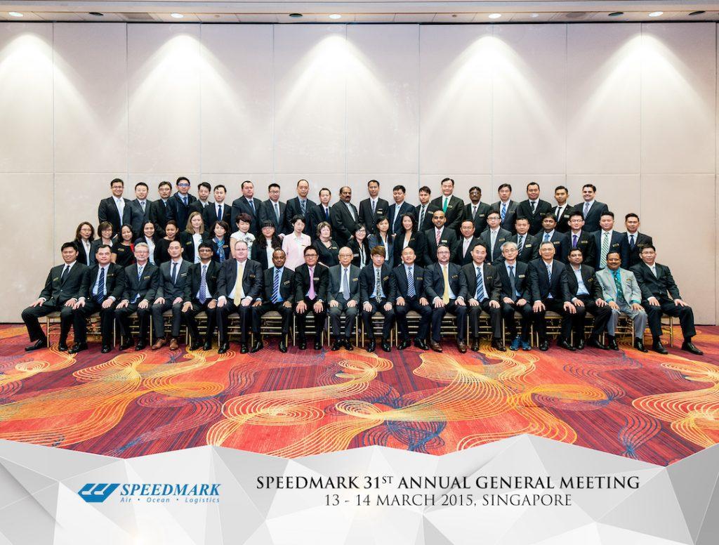 Group Photo With Custom Design Overlay Singapore