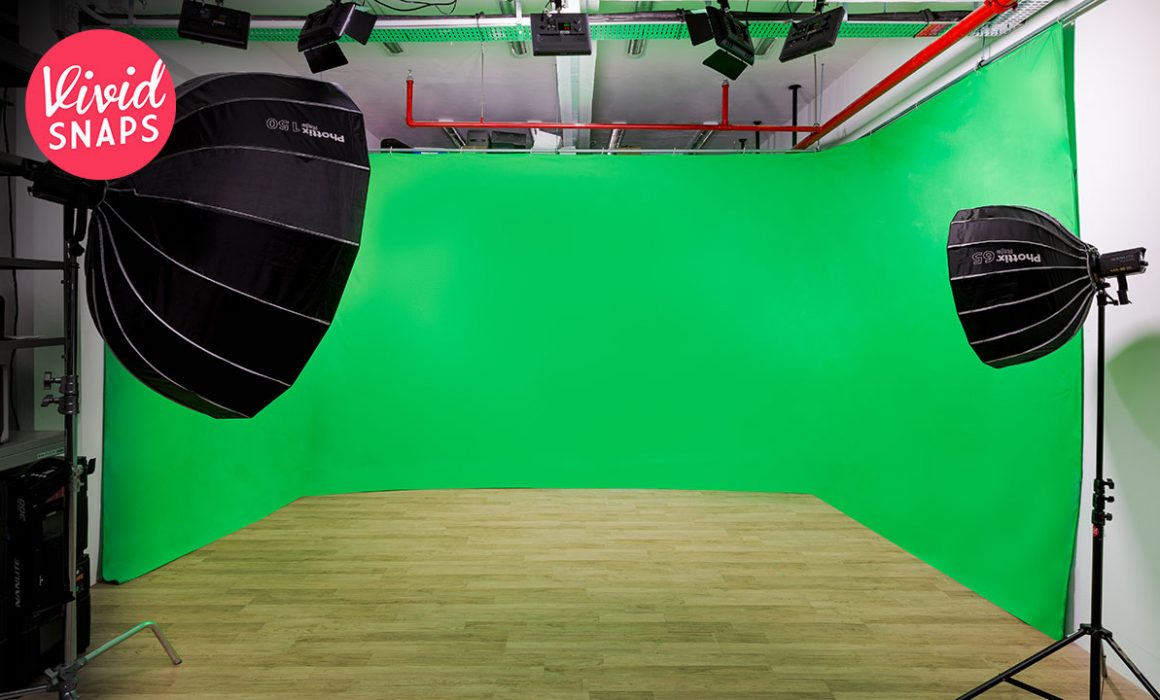 Green Screen Studio For Video Production Singapore