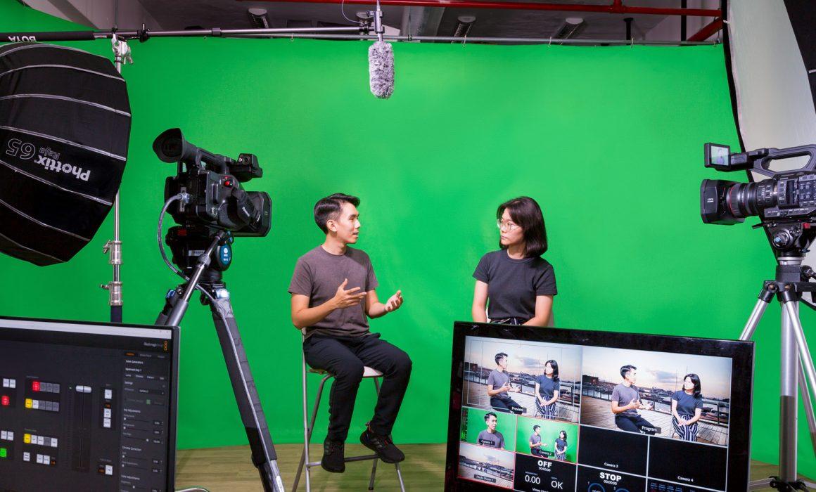 Green Screen Studio Singapore