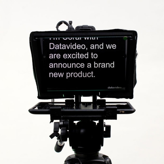 Datavideo teleprompter rental in Singapore for Video Production