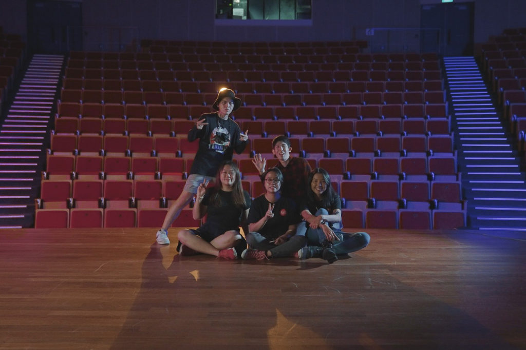 Behind the scenes of a corporate music video production in Singapore